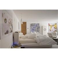 Beyaz Renk Hayranları İcin Harika Bir Ev