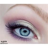 Pembe - Mor Göz Makyajı Nasıl Yapılır?