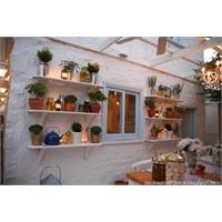 Alaçatı'da Roka Bahçe Restoran Aydınlatma