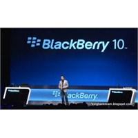 Blackberry Hisseleri Yükselişe Geçti!