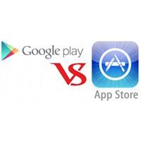 Google Play, Appstore'u Geride Bırakacak