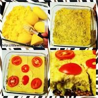 Öğrenci İşi Yemek Tarifleri: Fırında Patates Püres