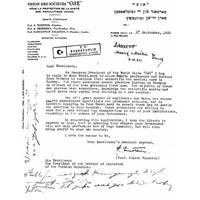 Einstein'in Atatürk'e Yazdığı Mektup
