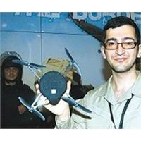 Türk Gencinden Mini Uçan Kamera!