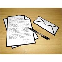 Bu Sana Son Mektubum!
