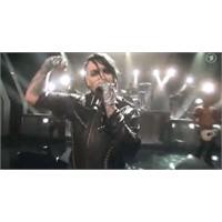 Rammstein Ve Marilyn Manson Aynı Sahneyi Paylaştı