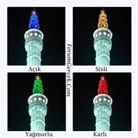 Hava Durumunu Renklerle İlan Eden Kule