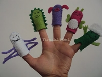 Parmak Kukla / Finger Puppets