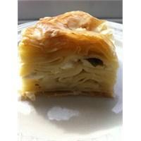 El Açması Peynirli Su Böreği