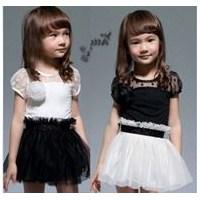Kız Çocukları İçin Dantel Elbise Modelleri