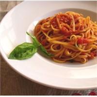 Domates Soslu Yassı Spagetti