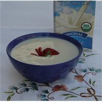Tatlandırılmış Soya Sütünden Yoğurt -yogurtkitabi.