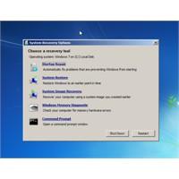 Windows Sistem Kurtarma Seçenekleri