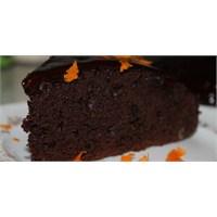 Çikolatalı&portakallı İslak Kek
