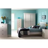 Turkuaz Renkli Yatak Odaları