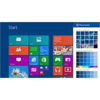 Windows 8.1 Baştan Aşağı Yeniliklerle Dolu