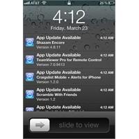 App Store Güncellemeleri İçin Push Bildirimleri