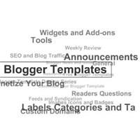 Blogger İçin Flash Etiket Bulutu