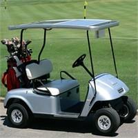 Güneş Enerjisi İle Çalışan Golf Arabası