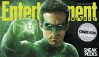 Ryan Reynolds Yeşil Kostümü Giydi