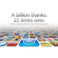 App Store 25 Milyara Ulaştı