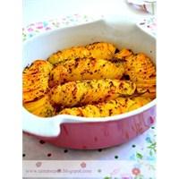 Fırında Çok Çıtır Patates Cipsi