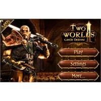 Two Worlds İi Castle Defense İphone Oyun Tanıtımı