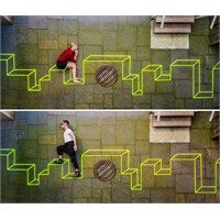 Aakash Nihalani'nin Neon Sokak Sanatı