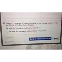 Facebook 'da Mesajlaşmak Ücretleniyor