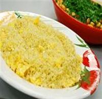 Yumurtalı Bulgur Pilavı