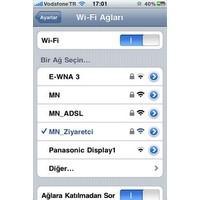 İphone İle Kablosuz İnternete Nasıl Girebiliriz?