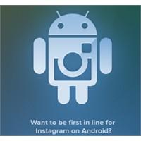 İnstagram Android İçin Ön Kayıt Başladı
