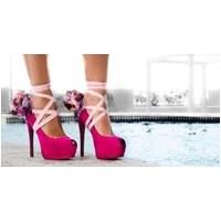 Fuşya Gelin Ayakkabıları