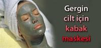Parlak Ve Gergin Yüz İçin Kabak Maskesi
