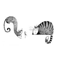 Kedimle Başbaşa Oturduk Demin…