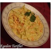 Yoğurtlu Beyaz Lahana Salatası