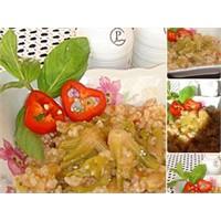 Zeytinyağlı ıspanak kökü yemeği