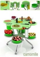 Çok Amaçlı Mobil Mutfak Tezgahı