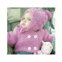 Bebek Hırkası Ve Şapka Yapımı