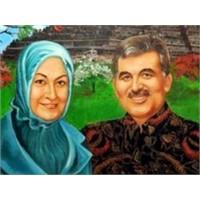 Gül İle First Lady'nin 275 Bin Dolarlık Portresi