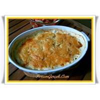 Köz Patlıcan Salatası (Kaşar Peynirli)