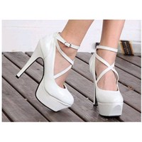2013 Beyaz Gelin Ayakkabısı Modelleri