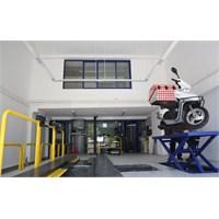 Motosikletlere Özel Muayene İstasyonu!