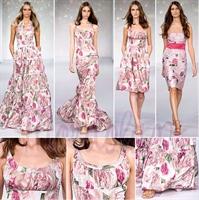 2010 Yazlık Elbise Modelleri Kısa Askılı Uzun