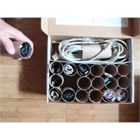 Kablolarınızı Düzenlemenin En Kolay Yolu