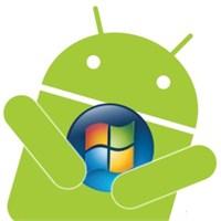Android De Windows Uygulamaları Çalıştı