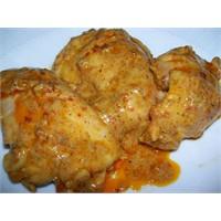 Zencefilli Yoğurtlu Tavuk
