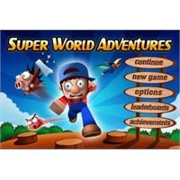Super World Adventures Mario Tarzı İphone Oyunu