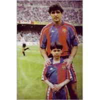 Real'li Rafael Nadal Çocukken Barça Taraftarıymış!