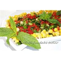 Kurutulmuş Domates Salatası ( Mutfak Ve Tatlar )